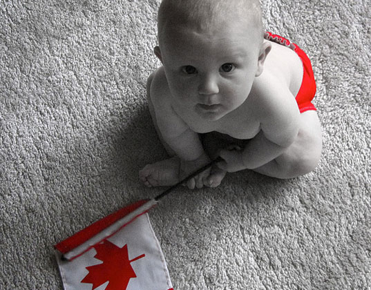 Top baby name Canada